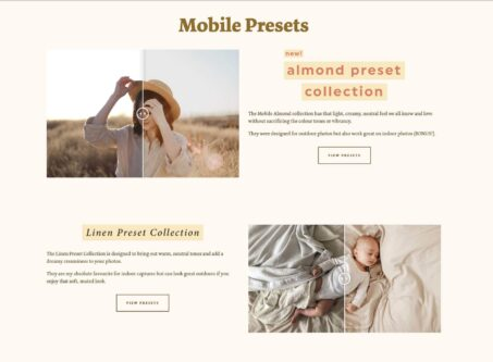 LoeppkysLife mobile preset preview on desktop