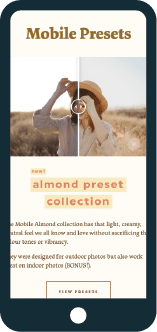 LoeppkysLife mobile presets preview on mobile