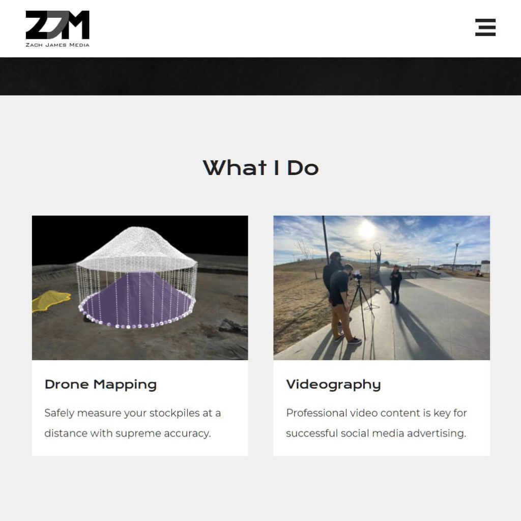 Zach James Media selection